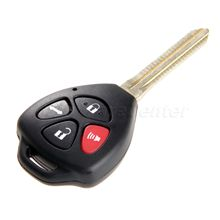 Mgoodoo Remote Key Shell Case For Toyota Camry Corolla Avalon RAV4 Yaris Venza Matrix Uncut Blade 3+1 4 Buttons Replacement Fob