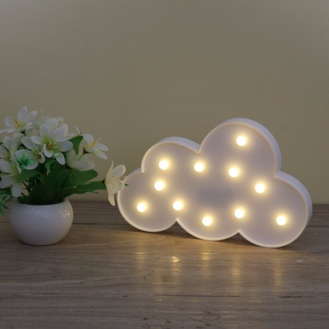 Beau AIMIHUO Cloud LED Night Light Fixtures Atmosphere Table Lamp For Home  Decoration Wall Lamp Use 2