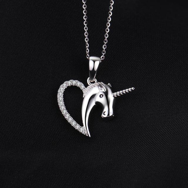 Unicorn Sterling Silver Pendant