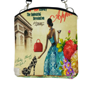 Повседневная Женщины Сумка Почтальона Сумочки Холст Печати Небольшой Сумка Девушки Сумочку Леди Bolsa Плеча Сумку  сумки женские   сумки  bolsa feminina   сумки женские сумка женская