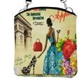 Casual Women Messenger Bags Canvas Printing Small Satchel  Girls Handbag Lady Bolsa Shoulder Bag