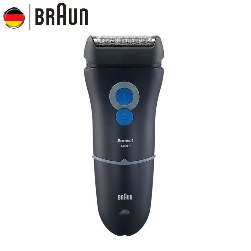 Braun Electric Razor 140s Safety Razors For Men Beard Rechargeable Hair Shaving Waterproof merkur 45 bakelite safety razor travel set