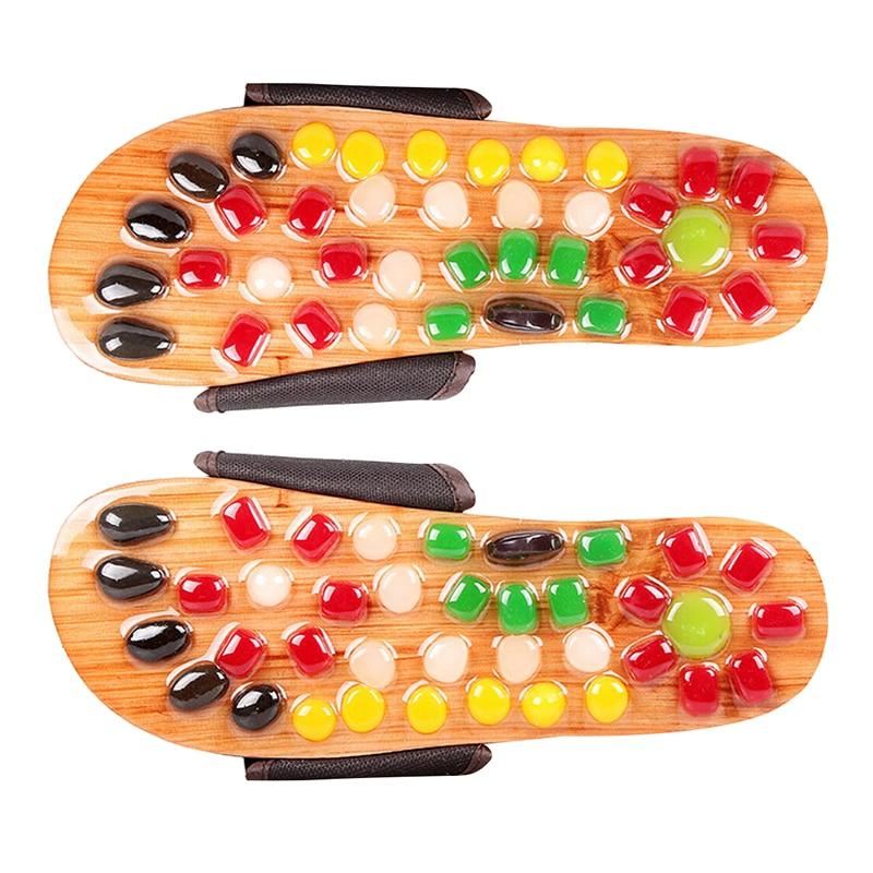 Massage Health Care Massage Shoe Pebble Stone Home Furnishing Health Sandal концентрат health