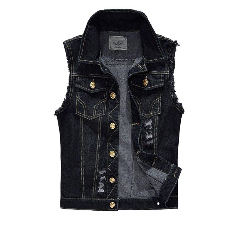 Mens Black Vest Jacket - JacketIn