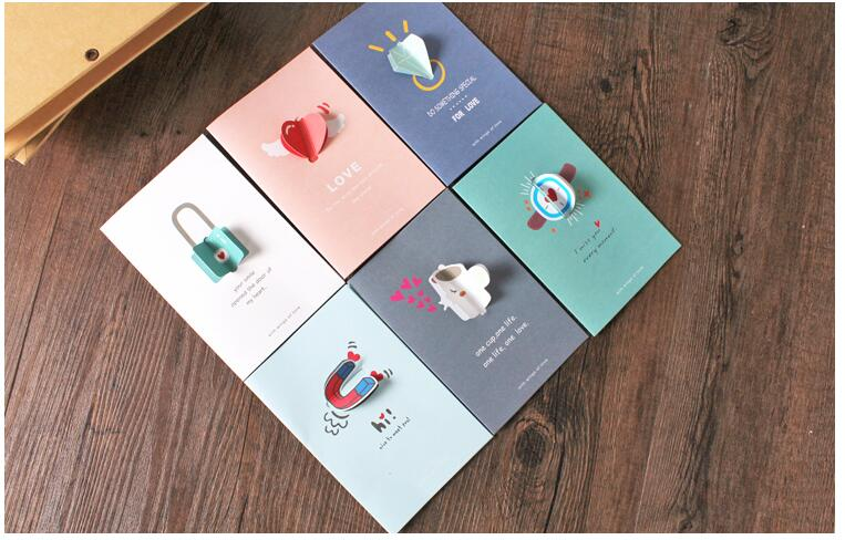 10pcs/lot  100mm*150mm Love Series Paper Card DIY Gift Packaging Envelope  Wedding