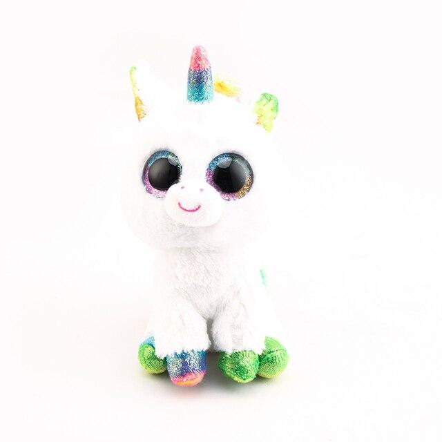 c0a203148cb Ty Beanie Boos Stuffed   Plush Animals Colorful White Unicorn Toys Dolls