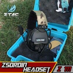 Z-TAC Element Airsoft Z Тактический военный пельтор гарнитура Softair Sordin наушники для стрельбы Arsoft IPSC охотничьи наушники