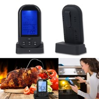 Wireless Digital Oven Thermometer Kitchen Food Cooking Thermometer BBQ Grilling Smoker Turkey Meat Water Probe Thermometer