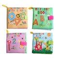 4 Estilo de Brinquedos Do Bebê Livros de Pano Macio Farfalhar de Som Infantil Carrinho de Brinquedo Chocalho Recém-nascidos Berço Cama educacional Brinquedos Do Bebê 0-36 meses