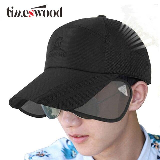 fd9d548a22217 Fashion Adjustable Summer Baseball Caps Men s Womens UV Sunscreen Hats Sun  Hat New Hot Dry Breathable Caps