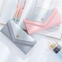Women Wallet Multifunctional Envelope Hasp Purse Long Style Closure Huge Capacity Fashion Handbag Money Bag More