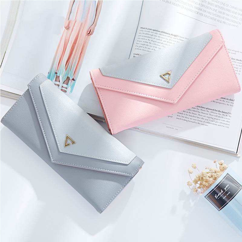 Women Wallet Multifunctional Envelope Hasp Purse Long Style Closure Huge Capacity Fashion Handbag Money Bag More Card Slots new arrival button wallet lady multifunctional purse long style zipper hasp oil wax cowhide closure huge capacity fashion han