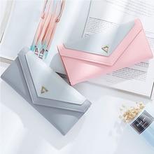 Women Wallet Multifunctional Envelope Hasp Purse Long Style Closure Huge Capacity Fashion Handbag Money Bag More Card Slots