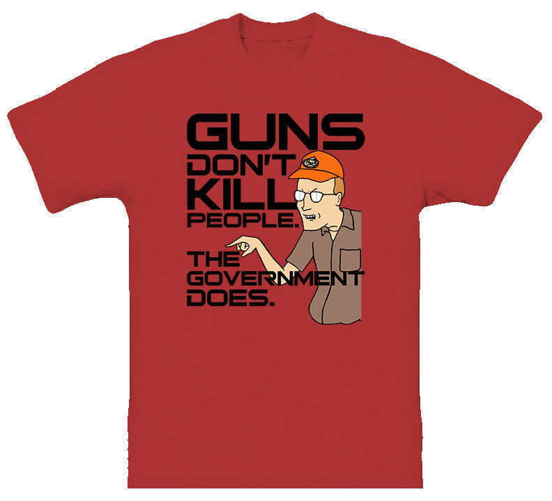 King Of The Hill Dale Guns Tv Episodes T Shirt Design Tshirt Printing Tee Shirt image