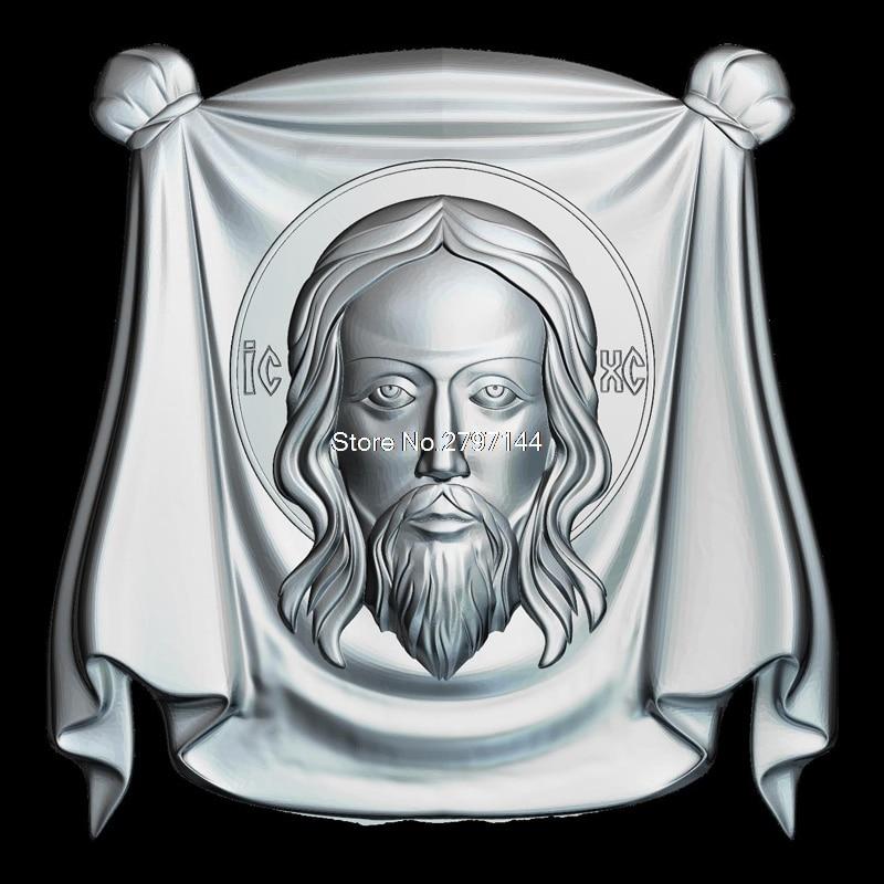 Sfanta Mahrama A Domnului 3D Model Relief Figure STL Format Religion 3d Model Relief  For Cnc In STL File Format