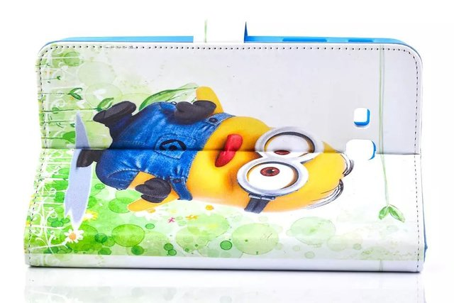 Leather Case Cover For Samsung Galaxy Tab3 Lite T110 7inch Tablet