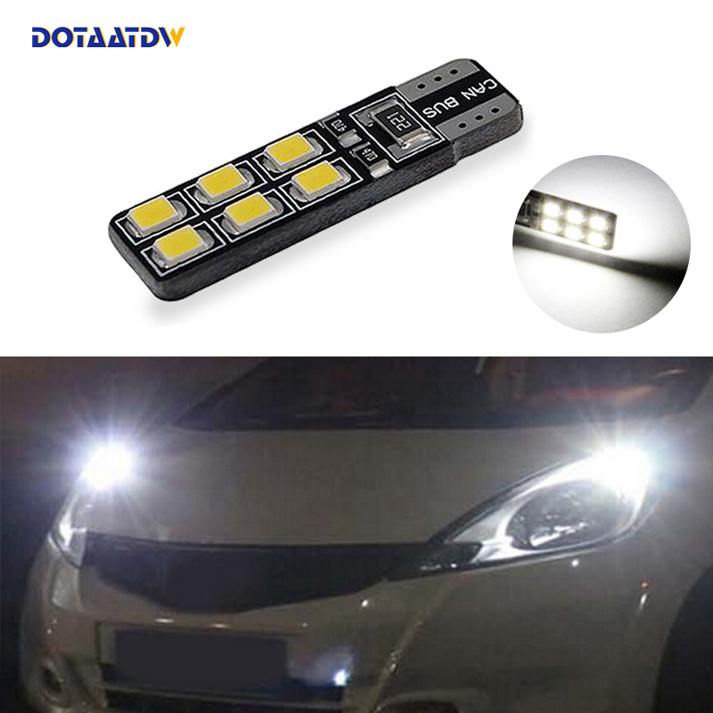 Peugeot 205 Yellow 4-LED Xenon Bright Side Light Beam Bulbs Pair Upgrade