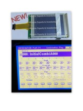 Korg pantalla táctil LCD con Digitalizador de pantalla táctil para Korg Trinity PRO Trinity Plus, novedad