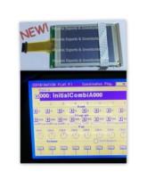 Novo korg display com digitador da tela de toque para korg trinity trinity pro trinity mais display lcd painel toque