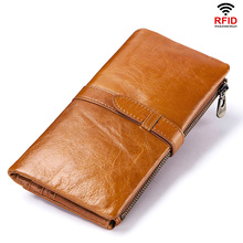 kavis genuine leather women wallet female small walet portomonee lady mini zipper money bag vallet coin purse card holder perse YICHENG Genuine Leather Women Wallet Female Coin Purse Walet Portomonee Clutch Money Bag Lady Handy Card Holder Long for Girls