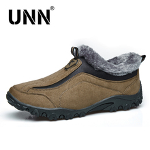 Winter Men's Casual Cotton sneakers Low drive sneakers male lazy Loafers Fleeces sneakers with fur  preserve heat sneakers males