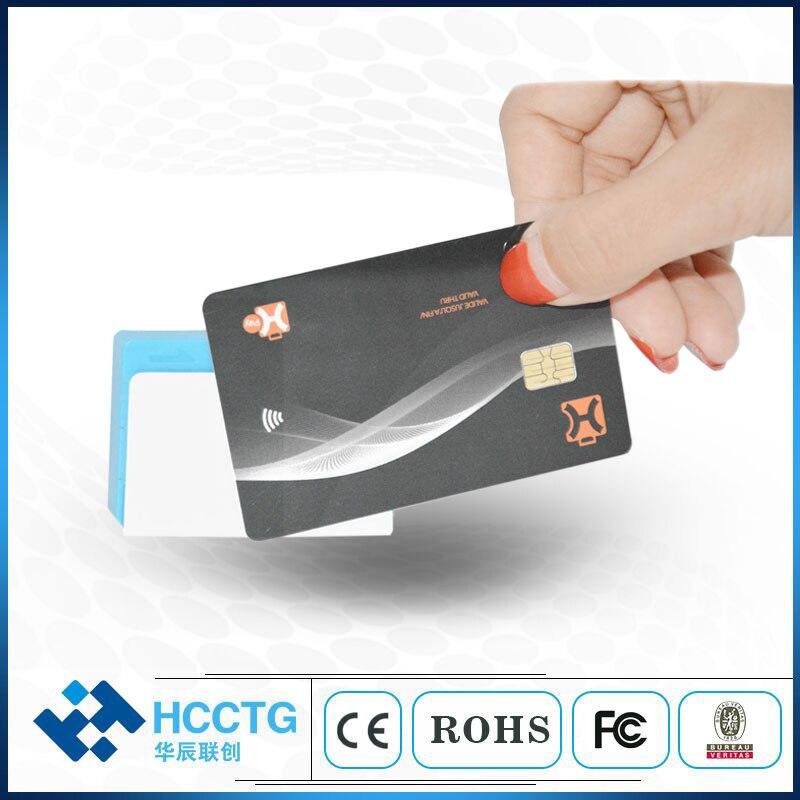 Lecteur de carte de crédit Mobile NFC + IC + MSR tout en un bluetooth lecteur de carte à puce RFID carte magnétique pour android et iOS MPR110 - 2