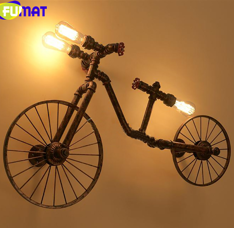 Bicycle Wall Lamps 14
