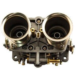 Image 5 - 2 قطعة زوج واحد 2 برميل 40IDF Carburettor الهواء القرن لشركة فولكس فاجن علة 40 IDF المكربن Carb