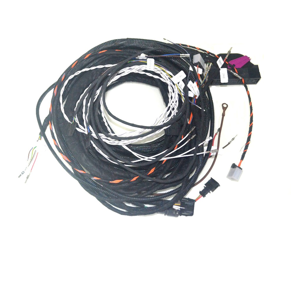 Oem Dynaudio Speaker Cable Wiring Harness Most Fiber Cable Set 9 Speakers Cable For Vw Golf 7