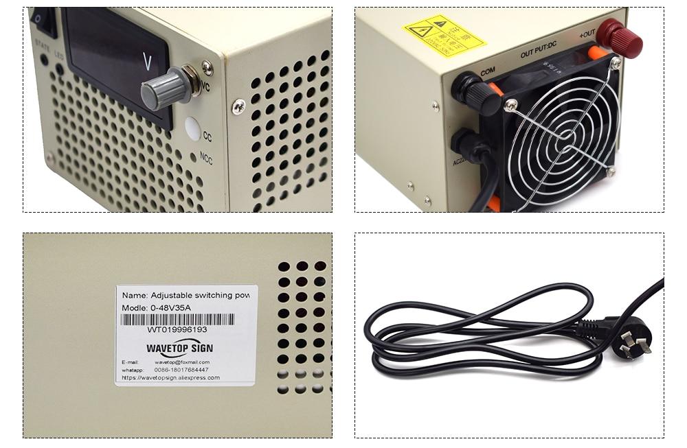Utini AC-DC 12V 2.5A Switching Power Supply Board Board Replace Repair Module 2500MA Input 100-240V 50-60Hz