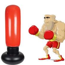 130cm Beginner Boxing Bag Training Fitness Inflatable MMA Sport Speed Air Sandbag Boxing Bags Punch Target Bags Hook Hanging Bag стоимость