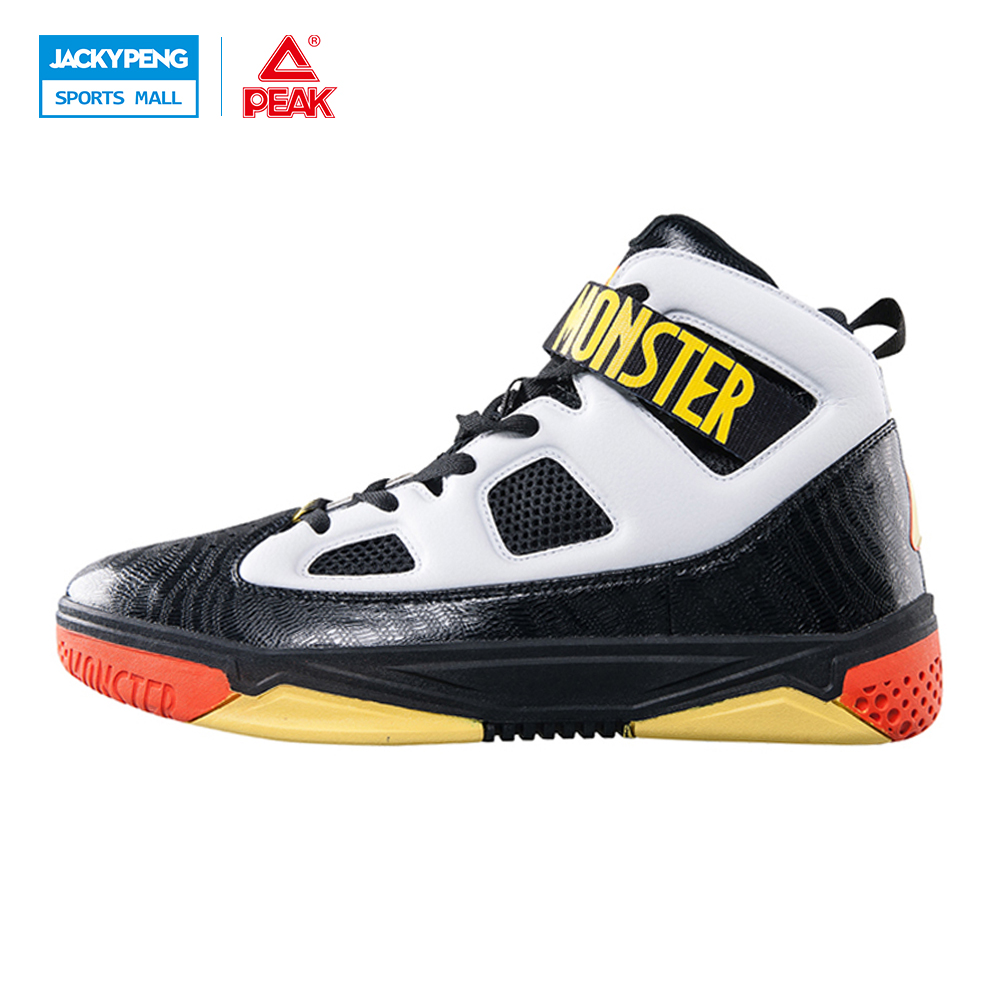 PEAK SPORT Monster 3.1 Professional Basketball Sport Shoes Men Athletic Breathable Sneaker FOOTHOLD Tech Training Ankle Boots peak sport authent men basketball shoes wear resistant non slip athletic sneakers medium cut breathable outdoor ankle boots