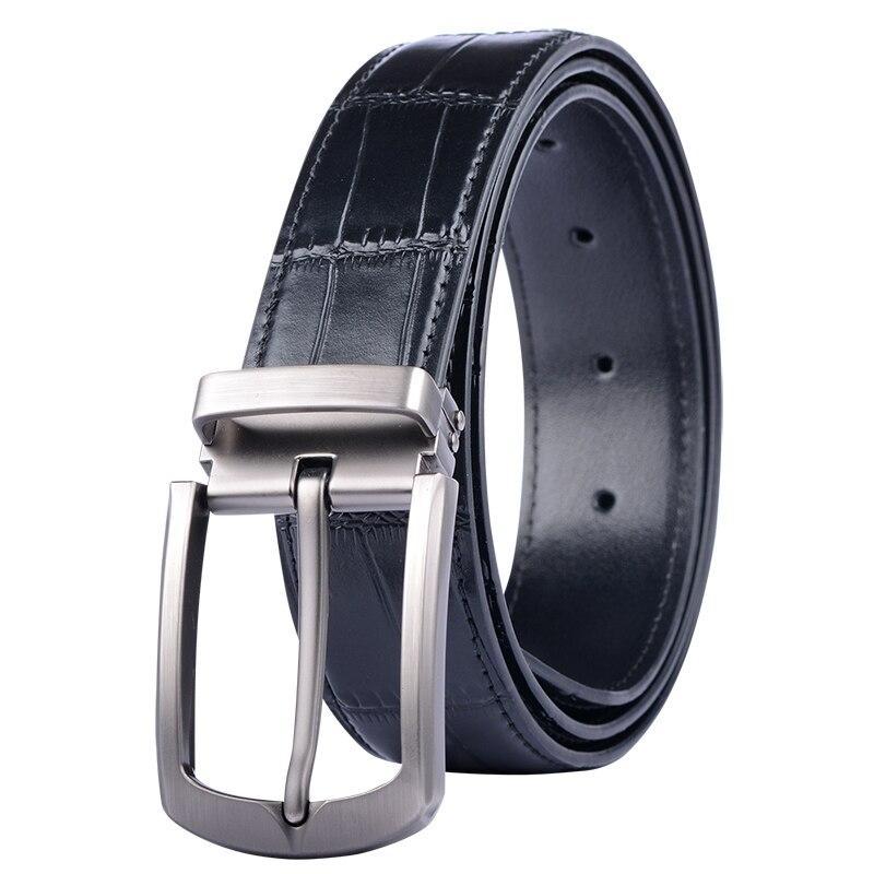 High Quality Mens Genuine Leather Belt Designer Belts Men Luxury Strap Male Belts for Men Fashion Vintage Pin Buckle for Jeans