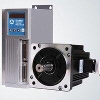 AC Servo Motor Drive Plus 80 Flange Servo Motor 1KW Complete Set Of Servo System To