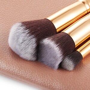 Набор кистей для макияжа RANCAI10/15 шт., кисти для макияжа brochas maquillaje, пудра, тени для век, кисти с бесплатной доставкой