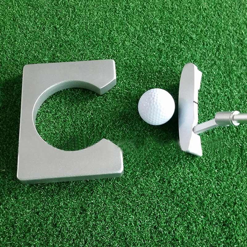 Portable Golf Putter Practicee Set Travel Indoor Golfs Ball Holder Putting Training Aids Tool With Carry Case Gifts &T8