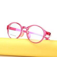 Детские очки для мальчиков и девочек, легкие очки, оправа, детские очки по рецепту, оправа, силиконовая, уход за носом, 682