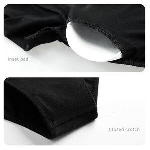 Image 5 - Traje de balé leotards para mulheres, traje de dança adulto, vestido collant de algodão preto com chiffon