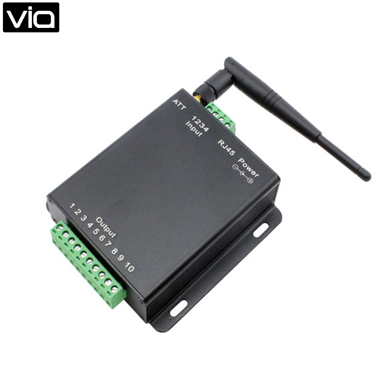 USR-WIFIIO-83  Free shipping Remote control WiFi module 8 channels digital switch relay -Free app supply two channels remote control relay p2p wireless wifi module board smart network relay control switch with 2 output 2 input q036