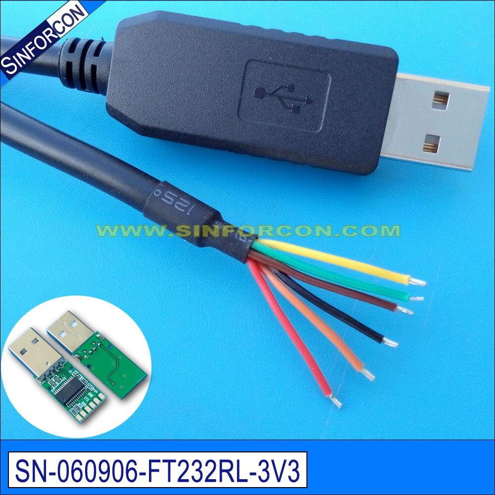 """win8 10 ftdi ft232r usb uart ttl 3.3v """"flash"""" programos atsisiuntimo kabelis ttl 232r 3v3 mes"""