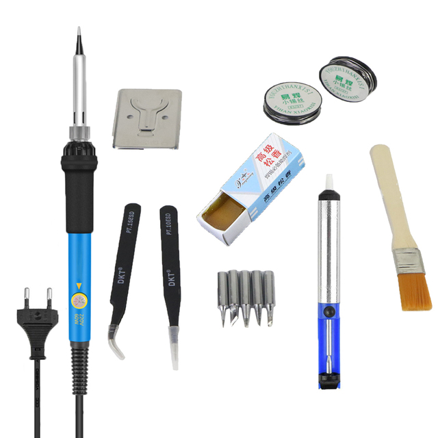 Electric Soldering Iron Kit Adjustable 60W