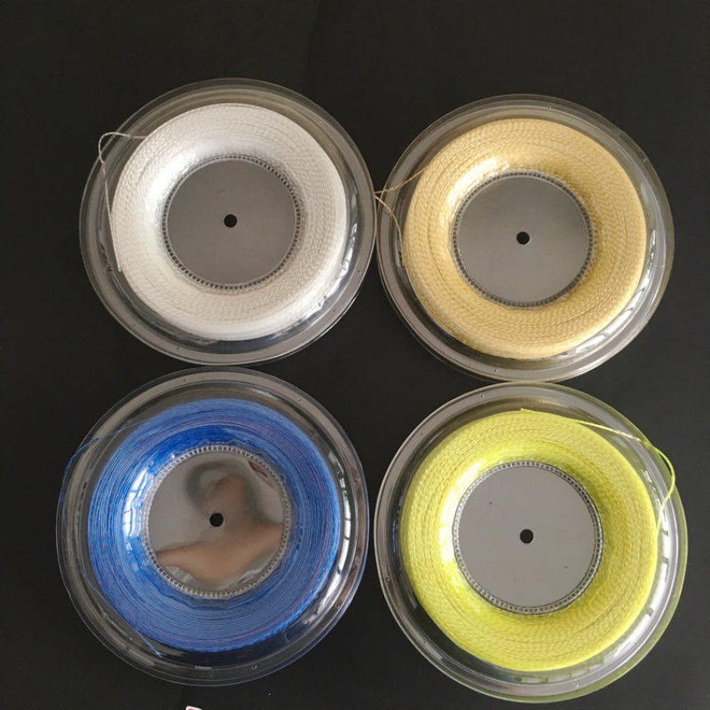 New Replacement 200m/reel Racquet Tennis String Power Rough 1.25mm Tennis Racket String Promotion Soft Nylon Tennis Racket Line hercules 4861 page 2