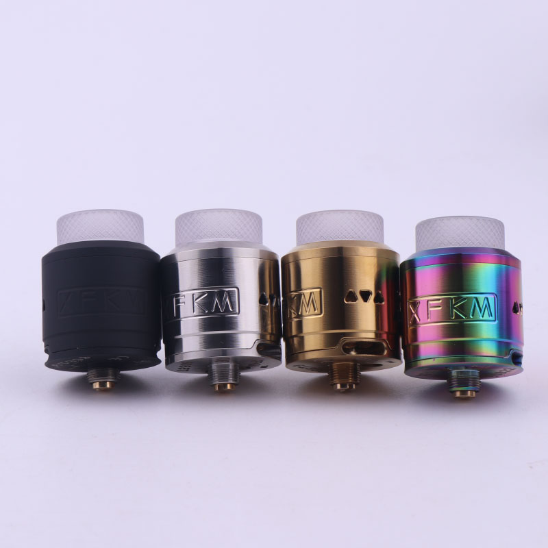 Original XFKM RDA 24mm tank rebuildable dripping vapor 510 Thread Vaporizer vape tank E-cigarette atomizer стоимость