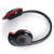 Banda para el cuello mp3 mini wireless bluetooth headset/auriculares estéreo de música auricular bluetooth sd micro tf ranura de la tarjeta deportiva