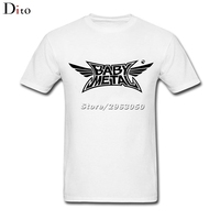 Heavy Metal Band Babymetal Logo Tees Shirt Men Fashion Custom Short Sleeve 3XL Plus Size T