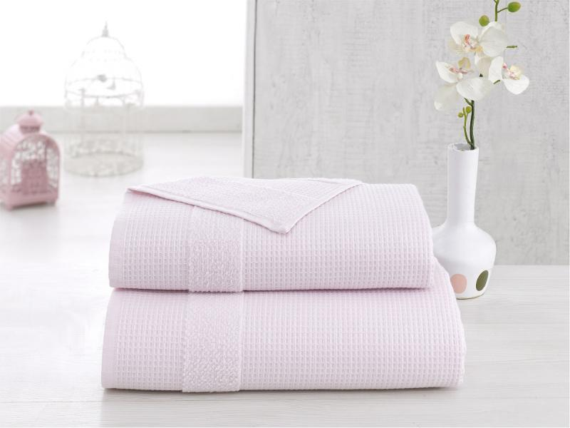 towel bath wellness симпл 70 140 cm peach Towel bath KARNA, TRUVA, 70*140 cm, pink