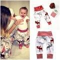 Recién Nacido de navidad Infantil Niños Niños Bebés Niñas Animal de Fondo Harem PP Pantalones Leggings Pantalones 0-24 M