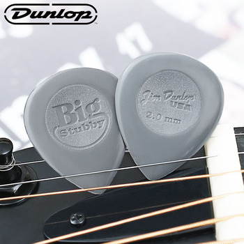 Dunlop Guitar Picks Big Stubby Nylon Guitar Pick Plectrum Mediator  Bass Mediator Acoustic Electric Classic Guitar Accessories dunlop guitar picks tortex tiii plectrum mediator bass acoustic electric accessories classic guitar picks 0 5mm 1 50mm picks