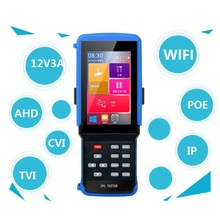 4.3 5 in one Touchscreen CCTV Tester for IP/Analog HD Camera, AHD,CVI,TVI,1080P, BNC Network IPC9300S wifi