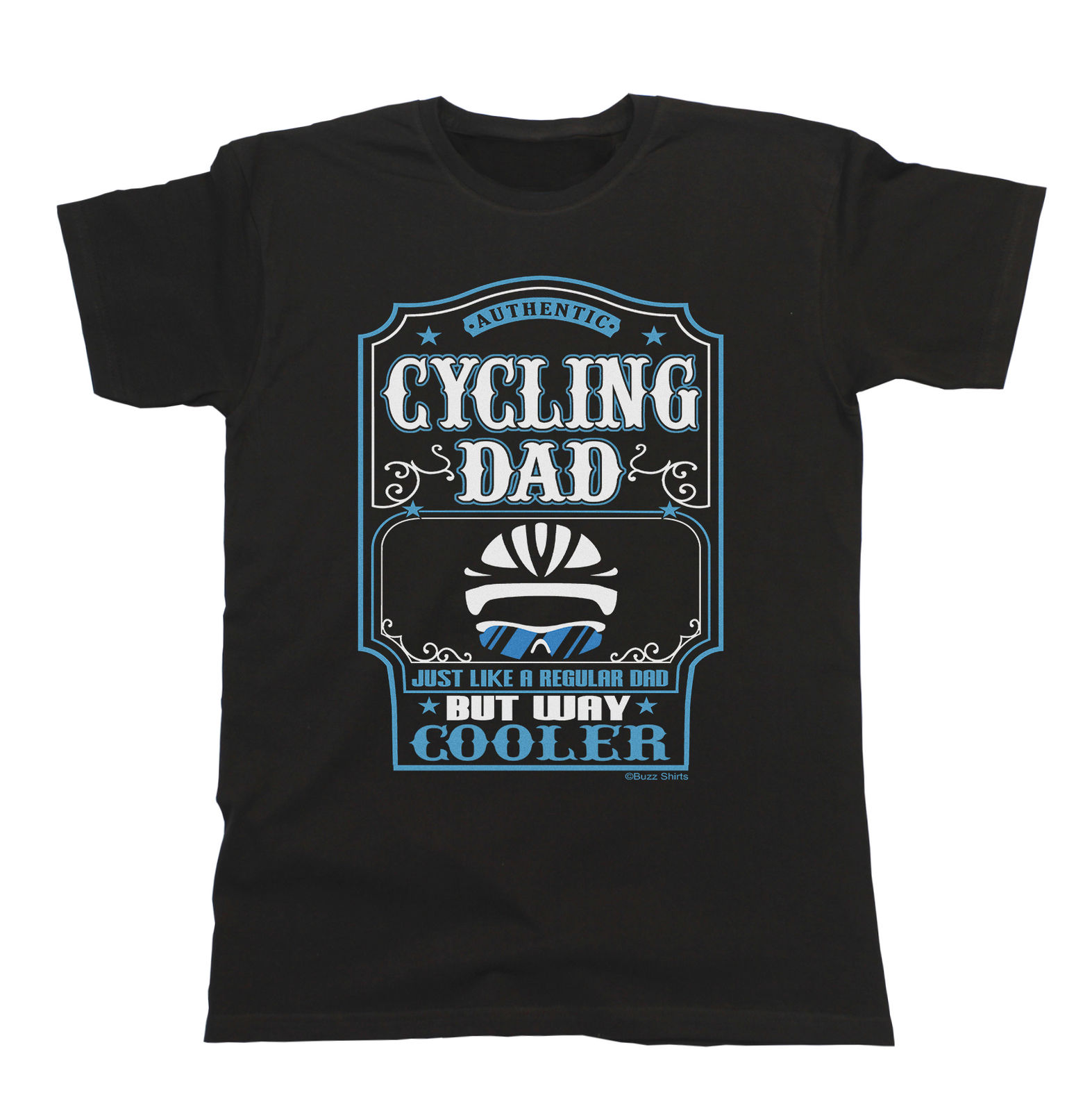Cyclinger Dad Mens Cyclist T-Shirt Gift Birthday FATHERS Day Christmas Biker Ride Short Sleeve T Shirt Funny Print Top Tee